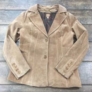 Vintage Wilson's Leather Suede Blazer Jacket M